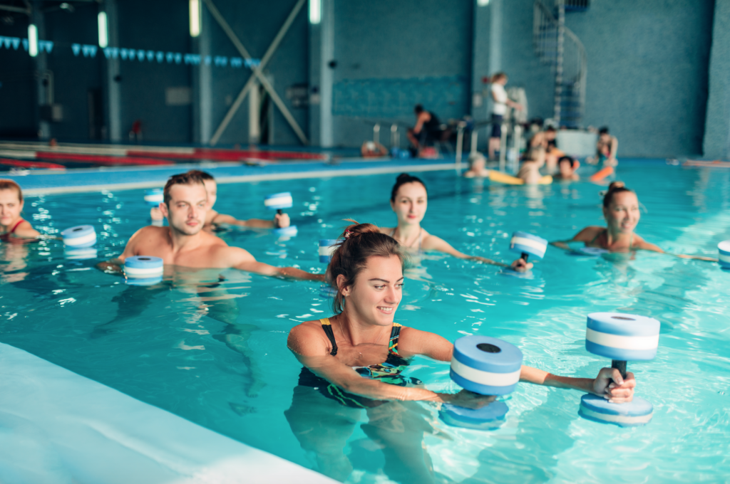 The STAR AquaCenter will include community programs centered around fitness.