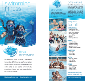 Information card for the STAR AquaCenter.
