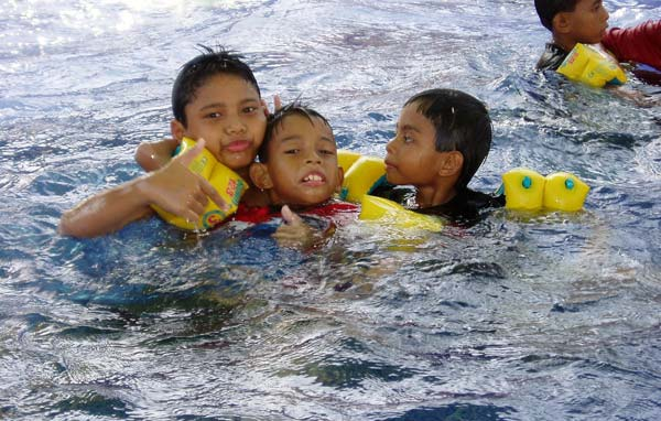 The STAR AquaCenter is welcomes all children from within the community.